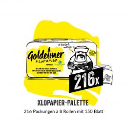 Goldeimer Klopapier Palette