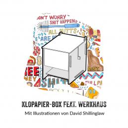 Goldeimer Klopapier Box